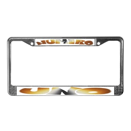 from Augustine gay bear license plate frame