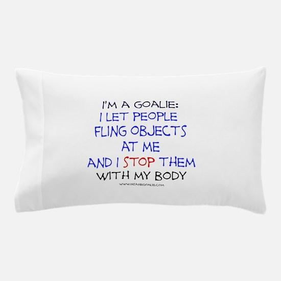 Cute Soccer goalie Pillow Case