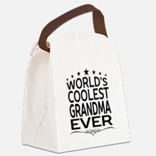 WORLD'S COOLEST GRANDMA EVER Canvas Lunch Bag