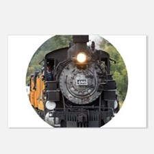 Historic Train Postcards (Package of 8)