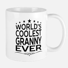 WORLD'S COOLEST GRANNY EVER Mugs