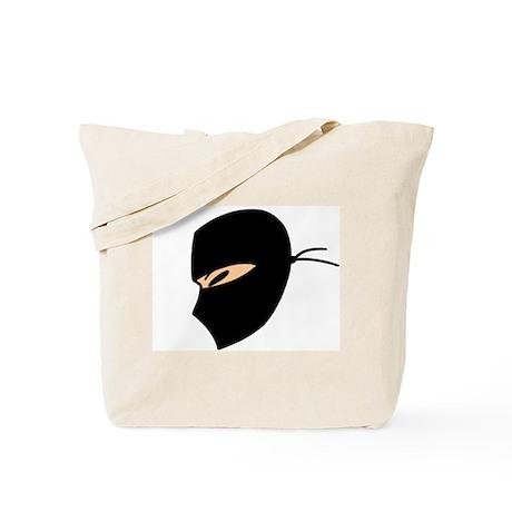 Ninja Face Tote Bag