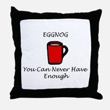 Eggnog Throw Pillow