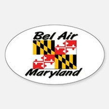 Bel Air Maryland Oval Decal