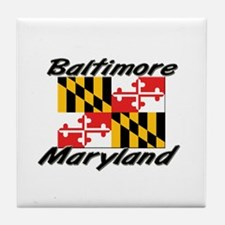Baltimore Maryland Tile Coaster