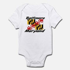 Baltimore Maryland Infant Bodysuit