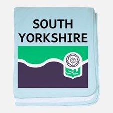 South Yorkshire baby blanket