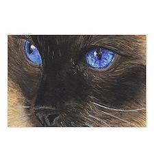 Siamese Eyes.png Postcards (Package of 8)