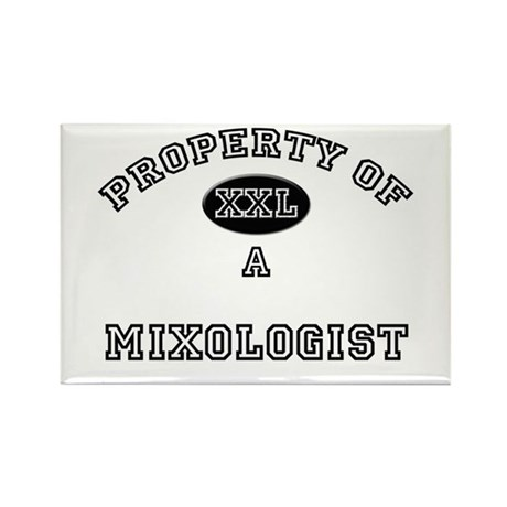 Property of a Mixologist Rectangle Magnet (10 pack
