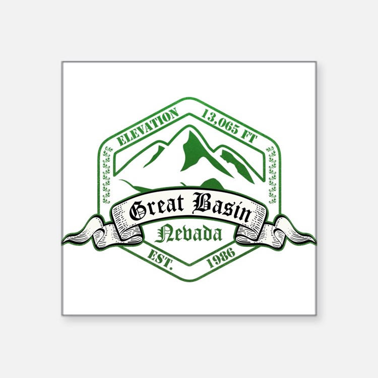 "Cute Great basin national park Square Sticker 3"" x 3"""