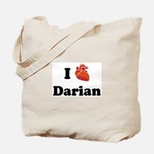 I (Heart) Darian Tote Bag
