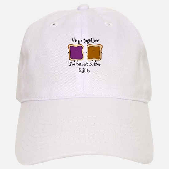 Peanut Butter and Jelly Baseball Baseball Baseball Cap
