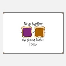 Peanut Butter and Jelly Banner