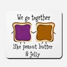 Peanut Butter and Jelly Mousepad