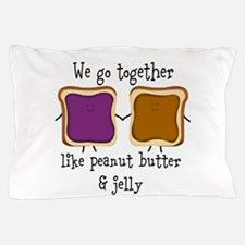 Peanut Butter and Jelly Pillow Case