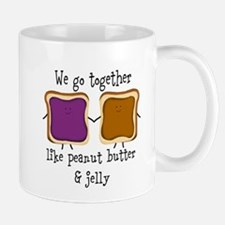 Peanut Butter and Jelly Mugs