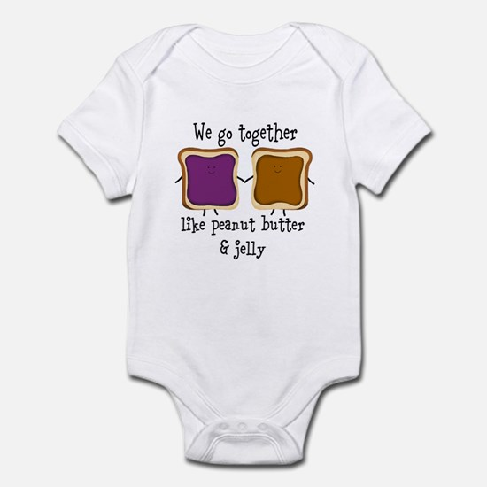 Peanut Butter and Jelly Body Suit