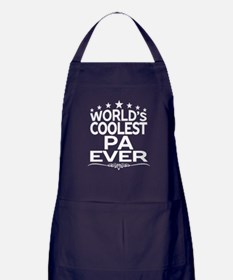 WORLD'S COOLEST PA EVER Apron (dark)