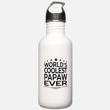 WORLD'S COOLEST PAPAW EVER Sports Water Bottle
