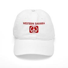 WESTERN SAHARA for peace Cap