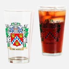 De-Witt Coat of Arms (Family Crest) Drinking Glass