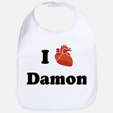 I (Heart) Damon Bib