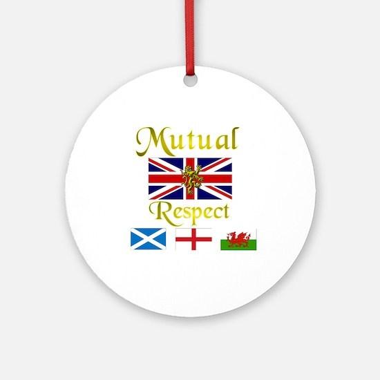 Mutual Respect. Ornament (Round)