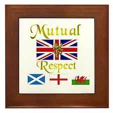 Mutual Respect. Framed Tile