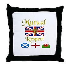 Mutual Respect. Throw Pillow