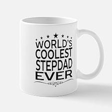 WORLD'S COOLEST STEPDAD EVER Mugs