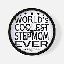 WORLD'S COOLEST STEPMOM EVER Wall Clock