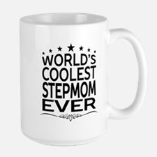 WORLD'S COOLEST STEPMOM EVER Mugs