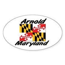 Arnold Maryland Oval Decal