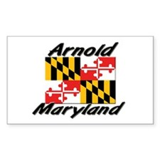 Arnold Maryland Rectangle Decal
