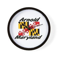Arnold Maryland Wall Clock