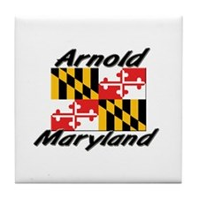 Arnold Maryland Tile Coaster