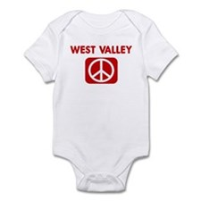 WEST VALLEY for peace Infant Bodysuit