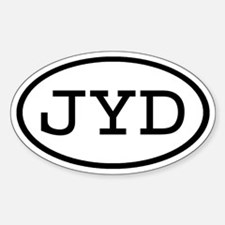 JYD Oval Oval Decal