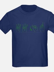 Green ASL WWJD T