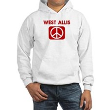 WEST ALLIS for peace Hoodie