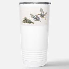 3 pelicans flying Travel Mug