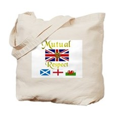 Mutual Respect. Tote Bag