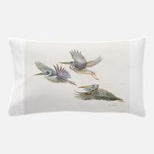 3 Pelicans Flying Pillow Case