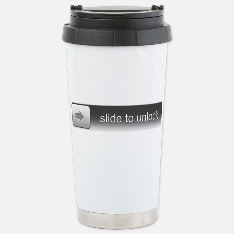 Cute Slide unlock Travel Mug
