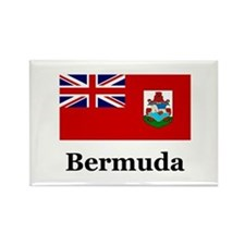 Bermuda Rectangle Magnet