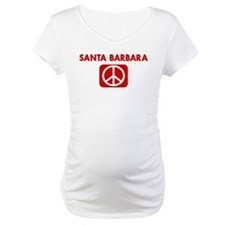 SANTA BARBARA for peace Shirt