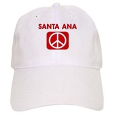 SANTA ANA for peace Baseball Cap
