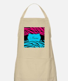 Personalizable Hot Pink and Teal Apron
