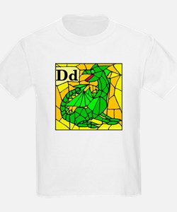 D is for Dragon T-Shirt