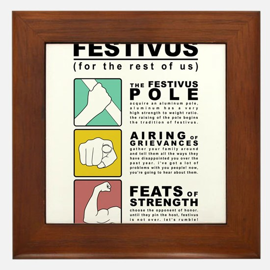 FESTIVUS™ diagram Framed Tile